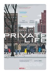 Private Life (Netflix) Movie Poster