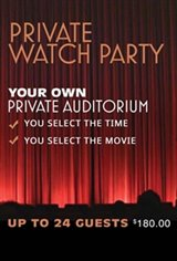 Private Watch Party (24 guests) Large Poster