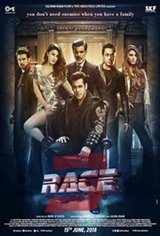 Race 3 3D Movie Poster