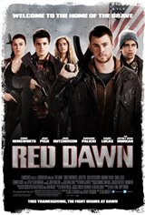 Red Dawn Large Poster