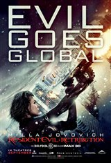 Resident Evil: Retribution Movie Poster Movie Poster