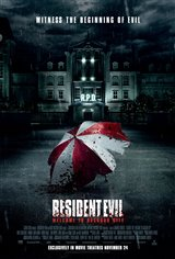 Resident Evil: Welcome to Raccoon City Movie Poster