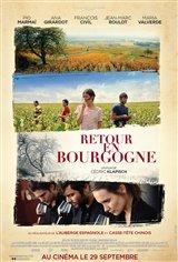 Retour en Bourgogne Movie Poster