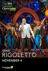 Rigoletto: 2020 Met Opera Encore Movie Poster