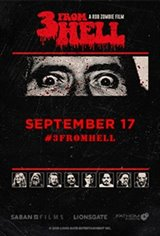 Rob Zombie's 3 From Hell - Night Two Large Poster
