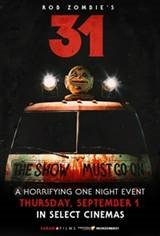 Rob Zombie's 31 Movie Poster