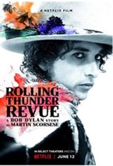 Rolling Thunder Revue: A Bob Dylan Story By Martin Scorsese Large Poster