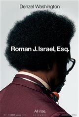 Roman J. Israel, Esq. Movie Poster