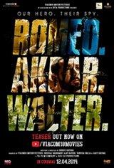 Romeo Akbar Walter (RAW) Movie Poster