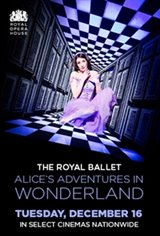 ROYAL BALLET: Alice's Adventures in Wonderland Movie Poster