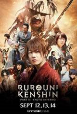 Rurouni Kenshin: Kyoto Inferno Movie Poster