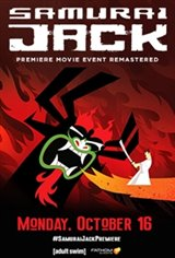 Samurai Jack: The Premiere Movie Event Large Poster