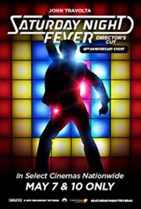 Saturday Night Fever 40th Anniversary Movie Poster