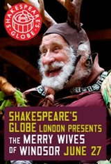 Shakespeare's Globe Theatre: The Merry Wives Of Windsor Movie Poster