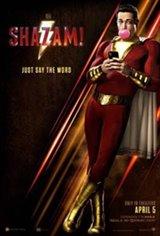 Shazam! 3D Movie Poster