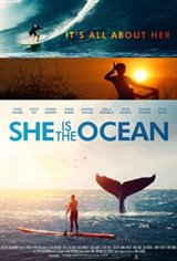 She Is the Ocean Large Poster