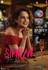 Simran (Hindi) Large Poster