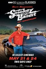 Smokey and the Bandit 40th Anniversary (1977) presented by TCM Movie Poster