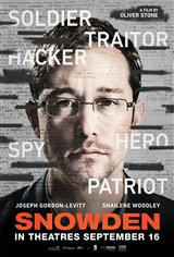 Snowden Movie Poster