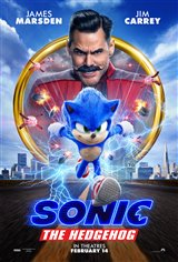 Sonic the Hedgehog Movie Poster Movie Poster