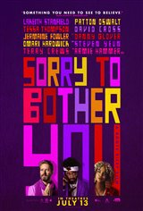 Sorry to Bother You Movie Poster Movie Poster