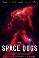 Space Dogs Large Poster