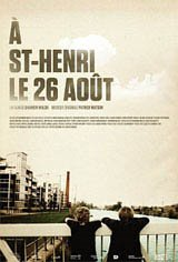 St-Henri, the 26th of August Movie Poster