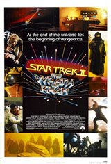 Star Trek II: The Wrath of Khan - Most Wanted Mondays Movie Poster