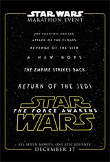 Star Wars Marathon Movie Poster