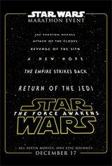 Star Wars Marathon Large Poster