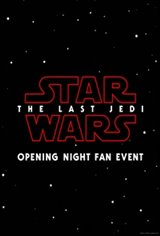 Star Wars: The Last Jedi - Opening Night Fan Event Movie Poster