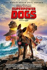 Superpower Dogs 3D Movie Poster