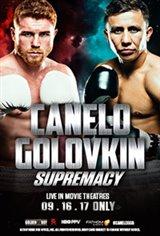 Supremacy: Canelo vs. Golovkin Large Poster