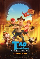 Tad the Lost Explorer and the Secret of King Midas Movie Poster