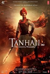 Tanhaji: The Unsung Warrior (Hindi) Movie Poster