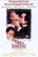 The Age Of Innocence Movie Poster