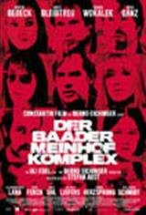 The Baader Meinhof Komplex Movie Poster