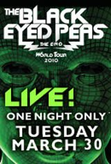 The Black Eyed Peas: The E.N.D. World Tour LIVE Movie Poster