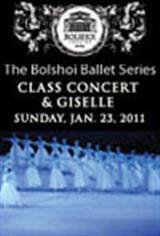 The Bolshoi Ballet's Class Concert and Giselle Movie Poster