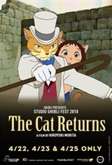 The Cat Returns - Studio Ghibli Fest 2018 Movie Poster