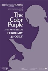The Color Purple (1985) 35th Anniversary presented by TCM Movie Poster