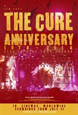 The Cure - Anniversary 1978-2018 Live in Hyde Park Movie Poster
