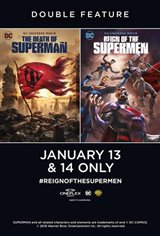 The Death of Superman / Reign of the Supermen Double Feature Large Poster