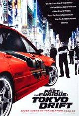 The Fast and the Furious 3: Tokyo Drift Movie Poster