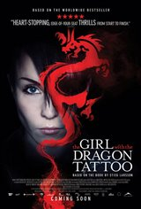 The Girl with the Dragon Tattoo (2010) Large Poster