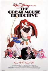 The Great Mouse Detective Movie Poster