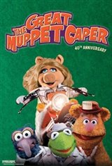 The Great Muppet Caper 40th Anniversary Movie Poster