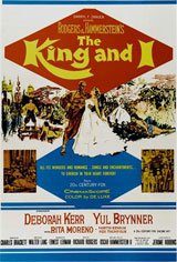 The King and I (1956) Movie Poster