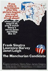 The Manchurian Candidate (1962) Movie Poster