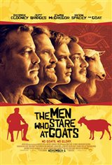 The Men Who Stare at Goats Movie Poster
